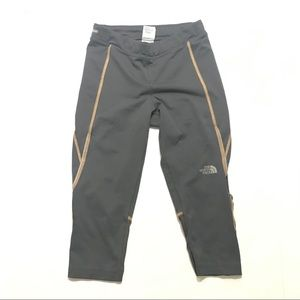 The north face vaporwick cropped leggings